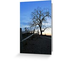 Rustic Trail Greeting Card