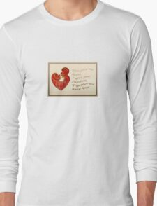 Together We Have Love Greeting  Long Sleeve T-Shirt