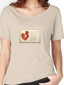 Together We Have Love Greeting  Women's Relaxed Fit T-Shirt
