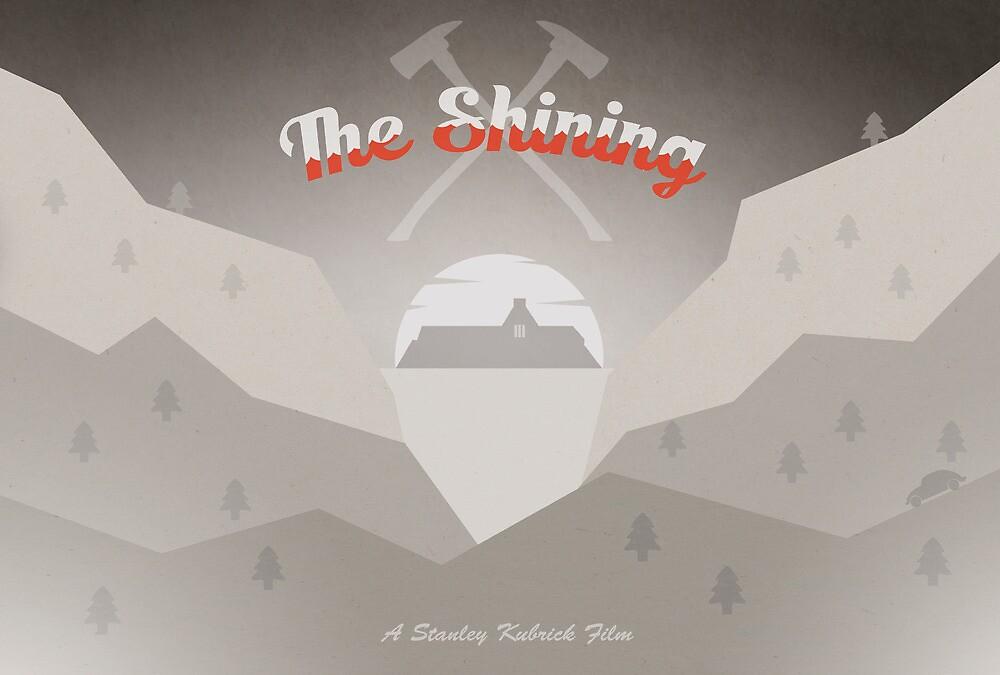The Shining Postcard by Robert Knight
