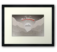 The Shining Postcard Framed Print