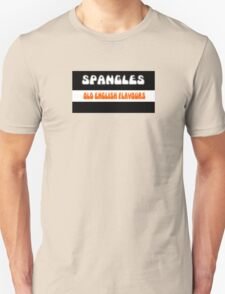Old English Spangles 1970s retro boiled sweets Unisex T-Shirt