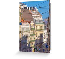 Lisbon. Rua da Misericórdia. Greeting Card