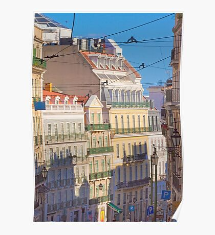 Lisbon. Rua da Misericórdia. Poster