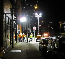 night shift by Bruce  Dickson