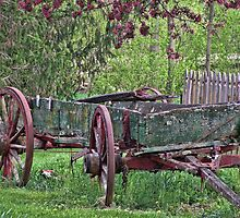 Worn Wagon by James Brotherton