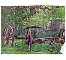 Worn Wagon Poster