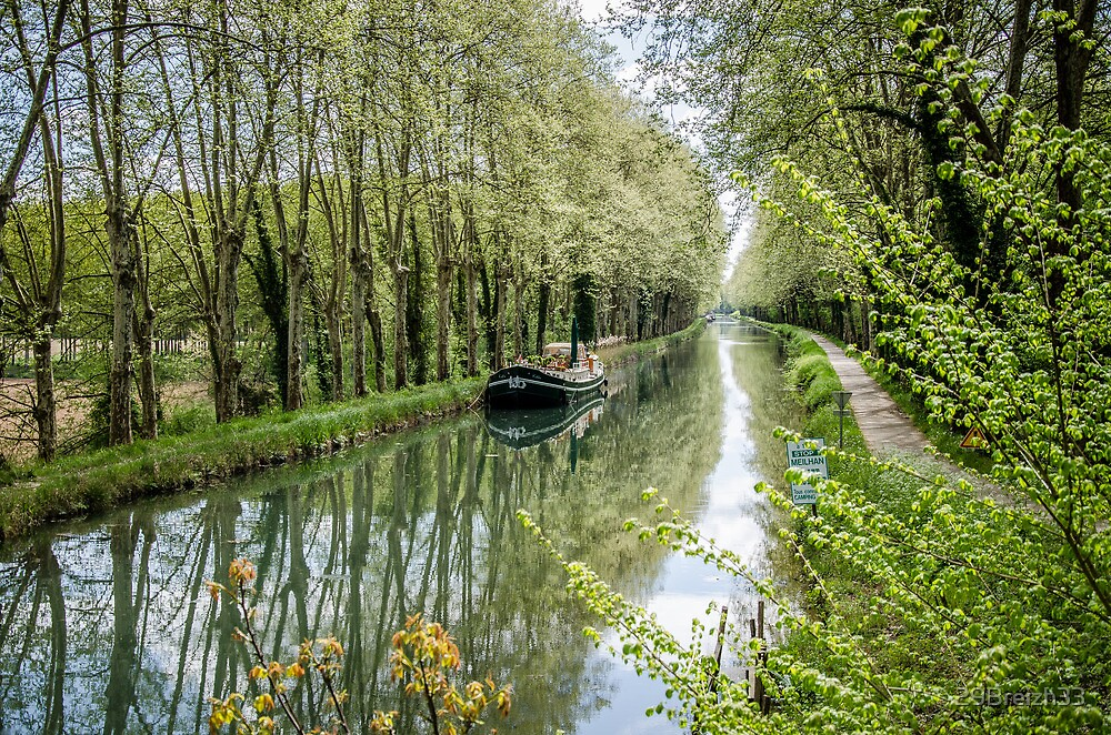 Meilhan sur Gironde Canal by 29Breizh33