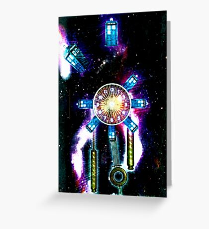 TIME SPACE STATION - 023 Greeting Card