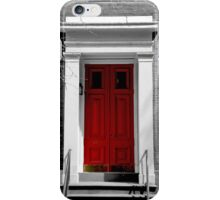 New York Red Door iPhone Case/Skin