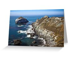 Pacific Coast Highway LTE Greeting Card