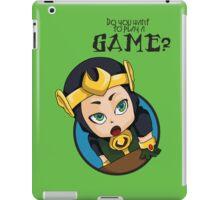 Do you want to play a game? iPad Case/Skin