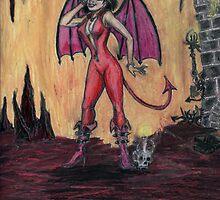 Aosoth - Sexy Devil Girl by David Webb