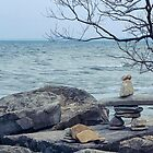 Inuksuit Oakville  by Marilyn Cornwell