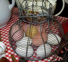 Got ALL My Eggs In A Basket by WildestArt