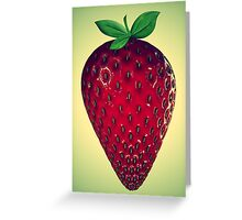 Delicious Strawberry Greeting Card