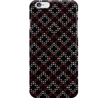 Red and White  Squares iPhone Case/Skin