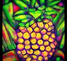 Pineapple Express by Vickie  Scarlett-Fisher