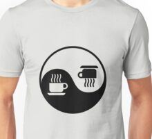 Ying and Yang of Coffee Unisex T-Shirt