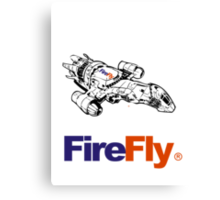 Firefly Delivery Canvas Print