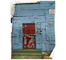 Bolted Door On The Club Poster