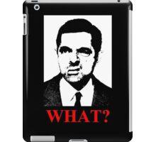 Mr Bean says a what iPad Case/Skin