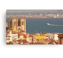 the city of light. Lisbon Cathedral. Canvas Print