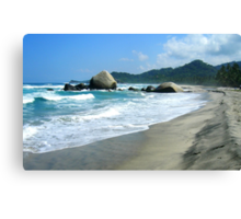 Tayrona Beach Canvas Print