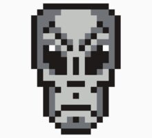 8-bit Alien by KingZombie