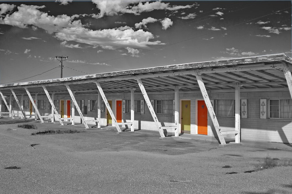Ghost Town Building in Arizona by matthewbam