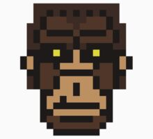 8-bit Bigfoot by KingZombie