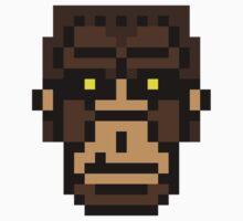8-bit Bigfoot by KingZombie