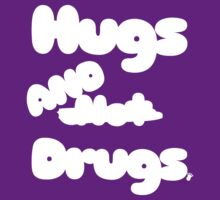 Hugs n̶o̶t̶ AND Drugs t shirt | FTS by FreshThreadShop