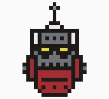 8-bit Killbot by KingZombie
