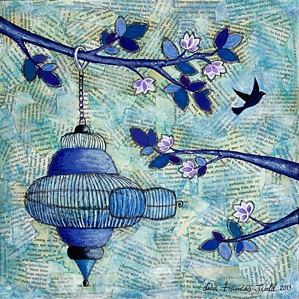 Freedom by Lisa Frances Judd~QuirkyHappyArt