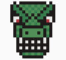 8-bit Lizard Man by KingZombie