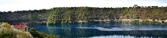 The wounderfull blue lake by Jemma Richards