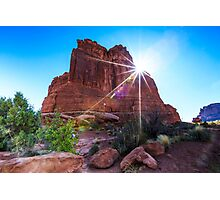 Arches National Park The Organ Photographic Print