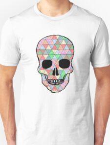 Multi color Triangle Skull T-Shirt