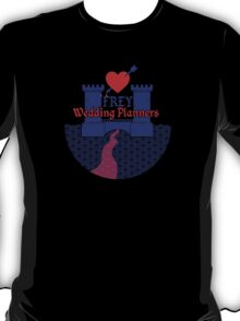 Frey Wedding Planners T-Shirt