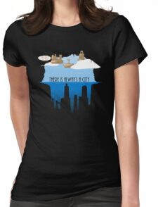 Always a City Womens Fitted T-Shirt