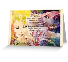 Child Within Greeting Card