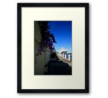 P&O Pacific Dawn Brisbane Framed Print