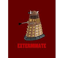 Dalek Photographic Print