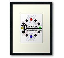 Talamak Logo Framed Print