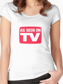 As seen on TV Women's Fitted Scoop T-Shirt