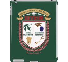 Skyrim Coat-Of-Arms iPad Case/Skin