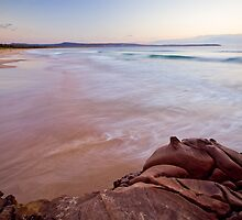 Rocks at Sunrise by Cathy Middleton