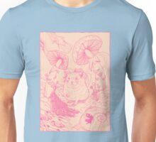 Hamster In Wonderland Pink Version Unisex T-Shirt