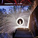 Wheel of Steel (wool) by sedge808
